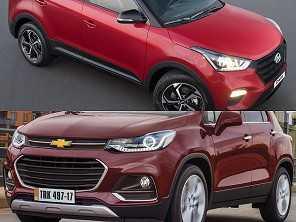 Um Hyundai Creta Sport ou um Chevrolet Tracker Premier?