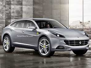 SUV de alto desempenho da Ferrari está previsto para 2022