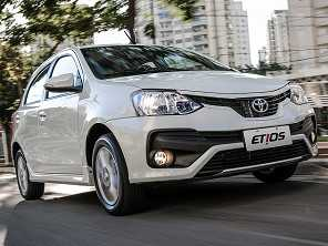 Toyota Etios X manual ou um Honda Fit DX?