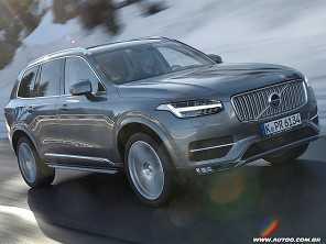 Volvo XC90 2018: mais seguro e com sete lugares