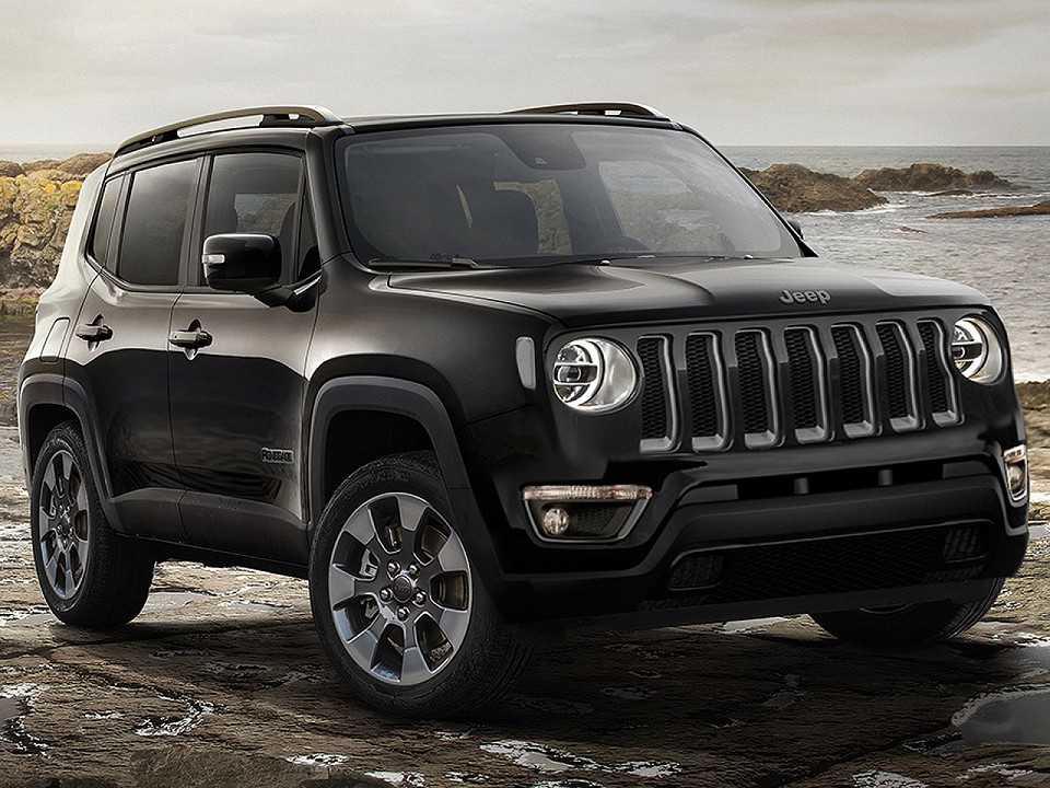 designer antecipa o jeep renegade 2019 autoo. Black Bedroom Furniture Sets. Home Design Ideas