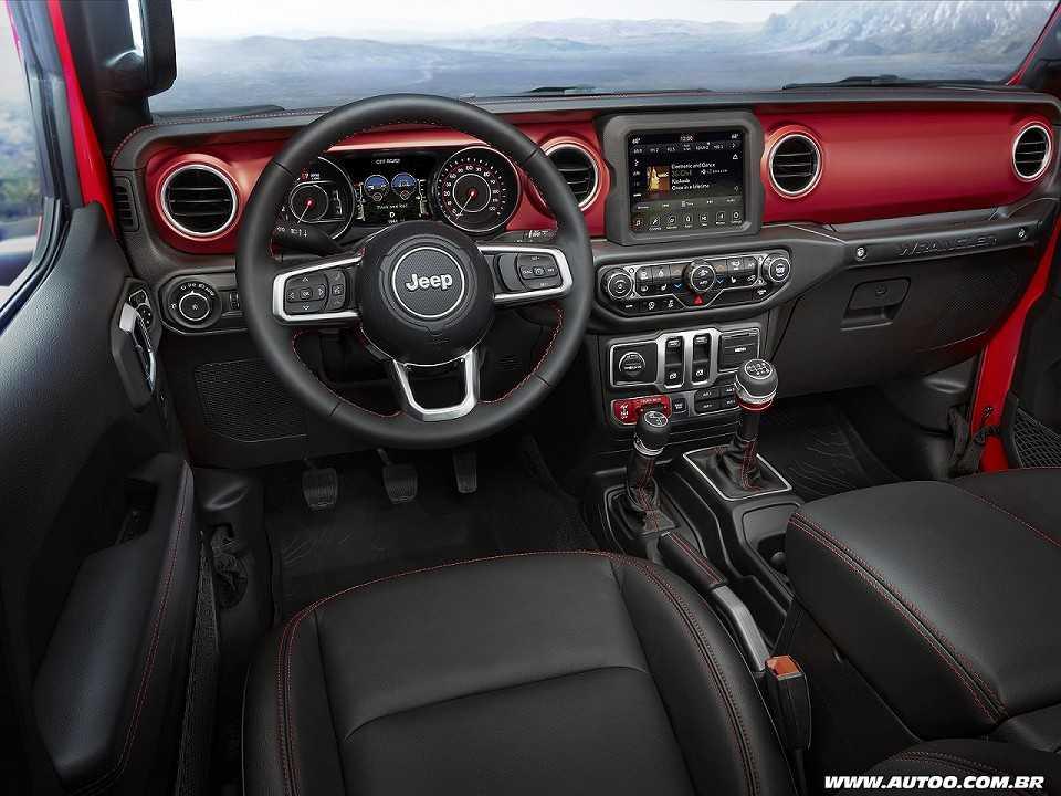 JeepWrangler 2018 - painel
