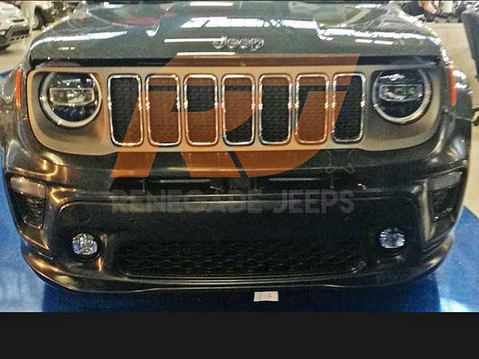 Novo Jeep Renegade 2017 >> Jeep Renegade 2019 é flagrado com nova frente - AUTOO