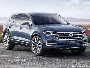 Nova geração do Volkswagen Touareg deve estrear ainda neste ano