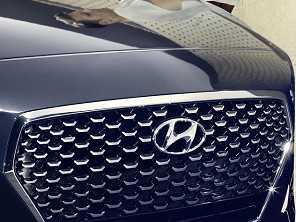 Hyundai prepara novidades para sua gama de SUVs topo de linha