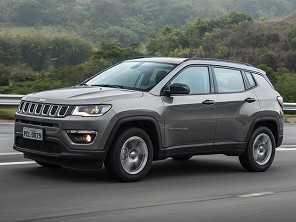 Jeep Compass começa 2017 à frente do Renegade em vendas