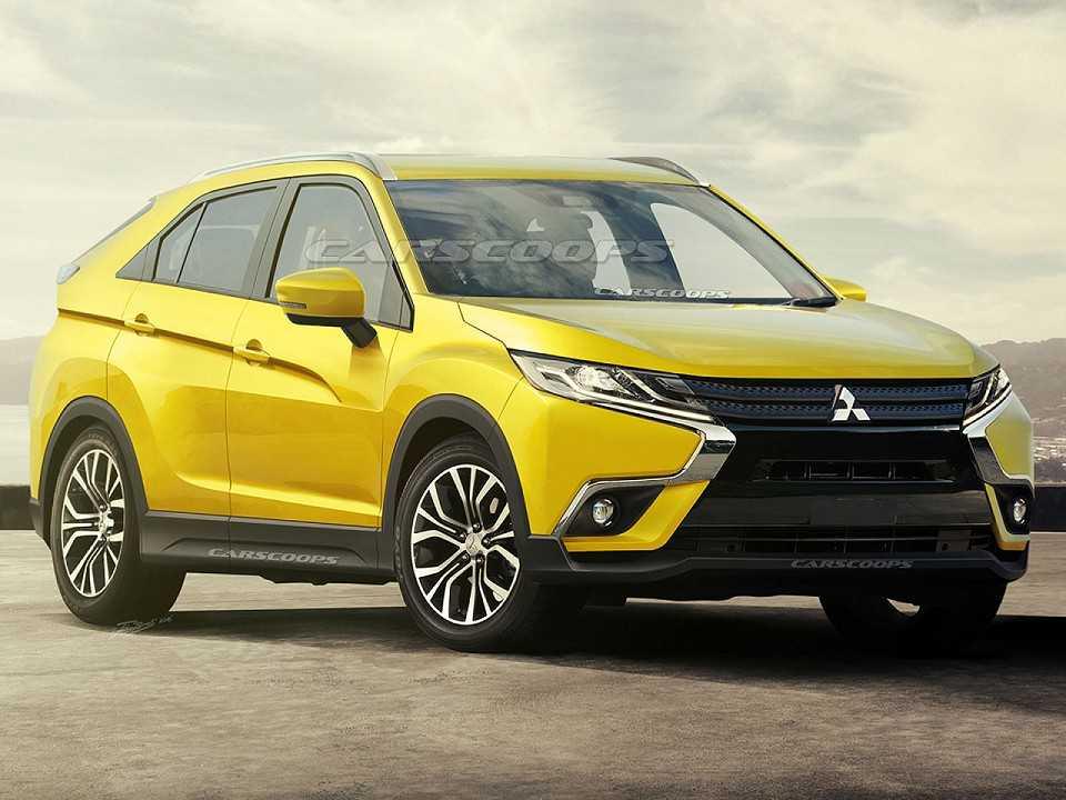 Projeção da nova geração do Mitsubishi ASX