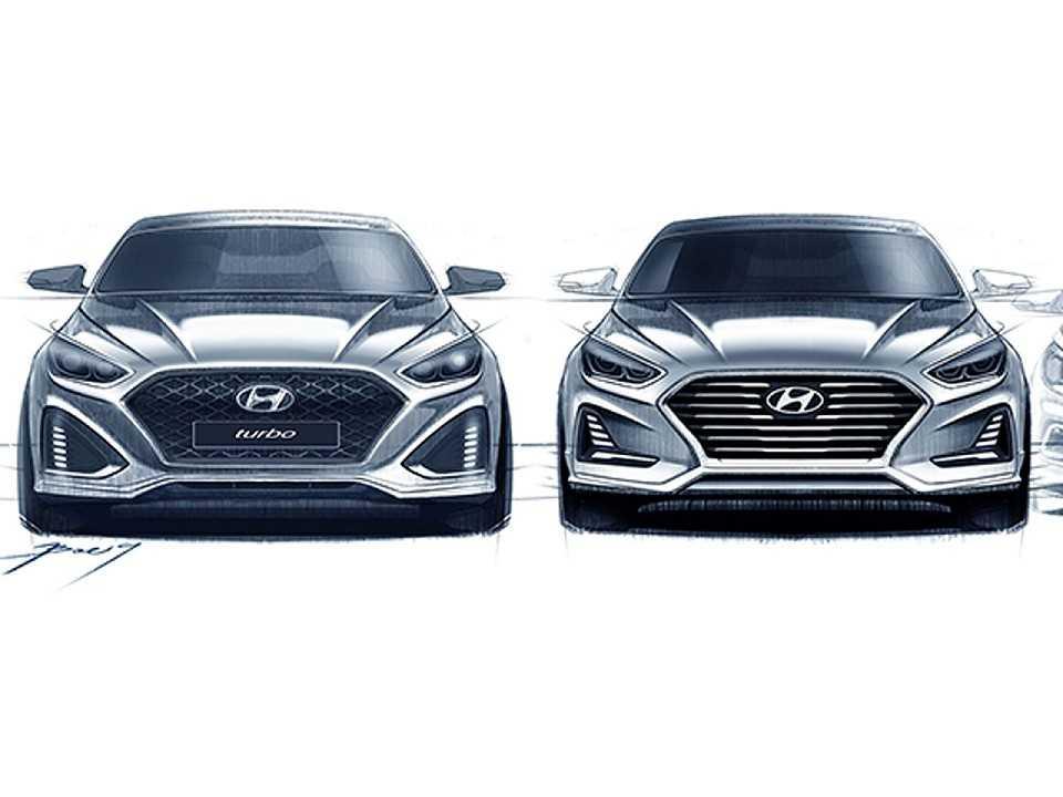 Teaser do novo Hyundai Sonata 2017
