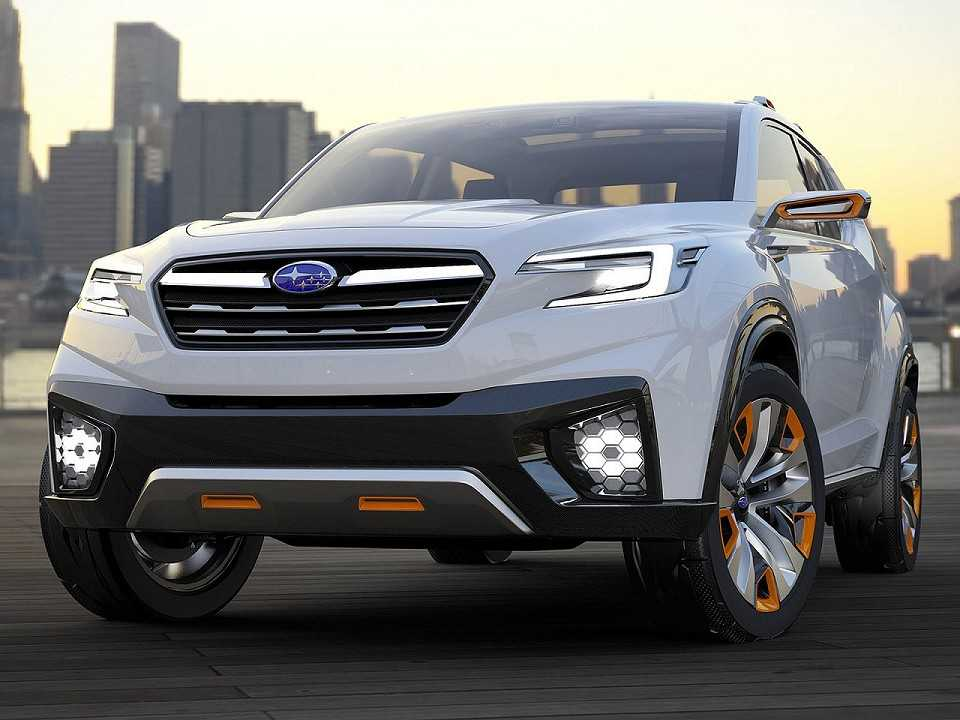 Subaru Viziv Future Concept revelado em 2015 no Salão de Tóquio