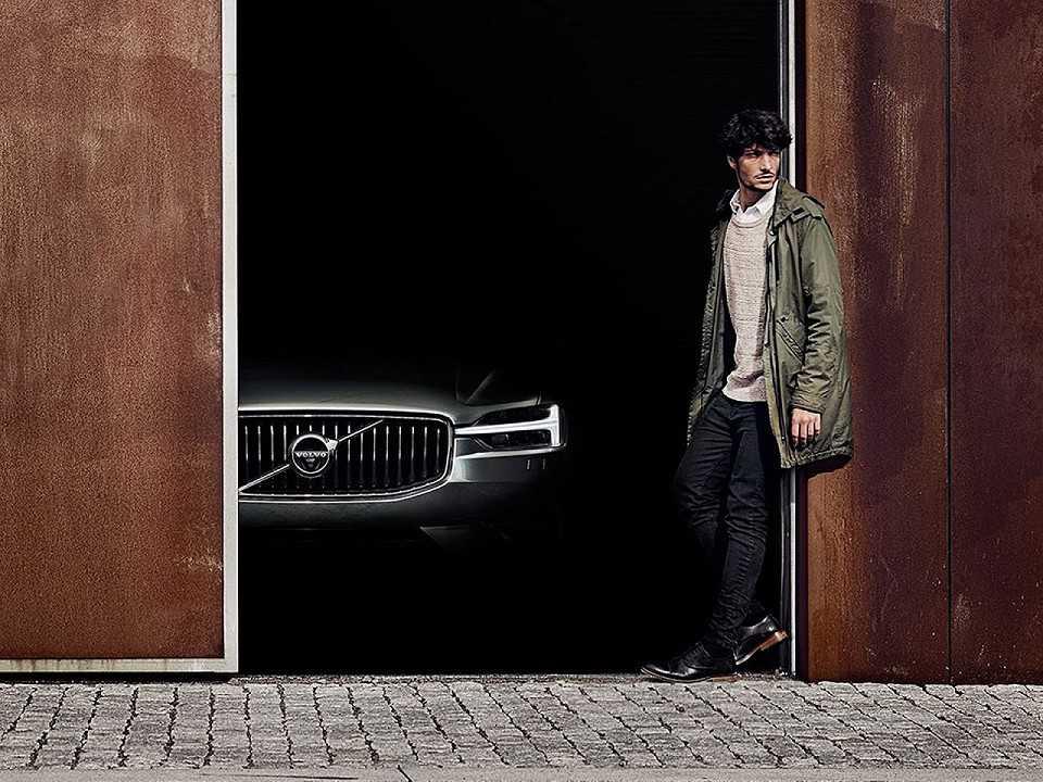 Teaser antecipando o novo Volvo XC60 2018