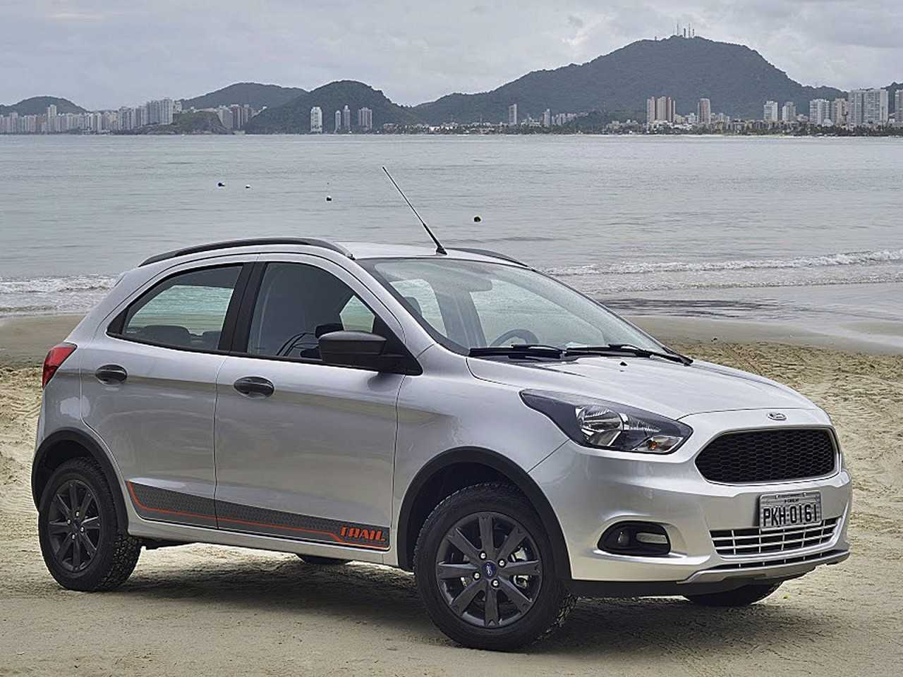 Ford Ka 2018 - ângulo frontal