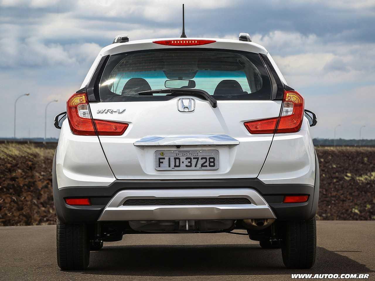 HondaWR-V 2018 - traseira