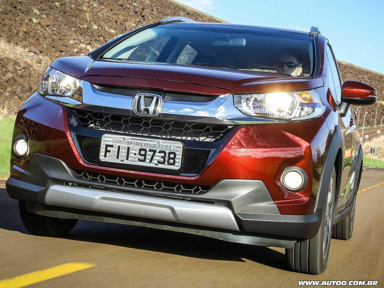 HondaWR-V 2018 - ângulo frontal
