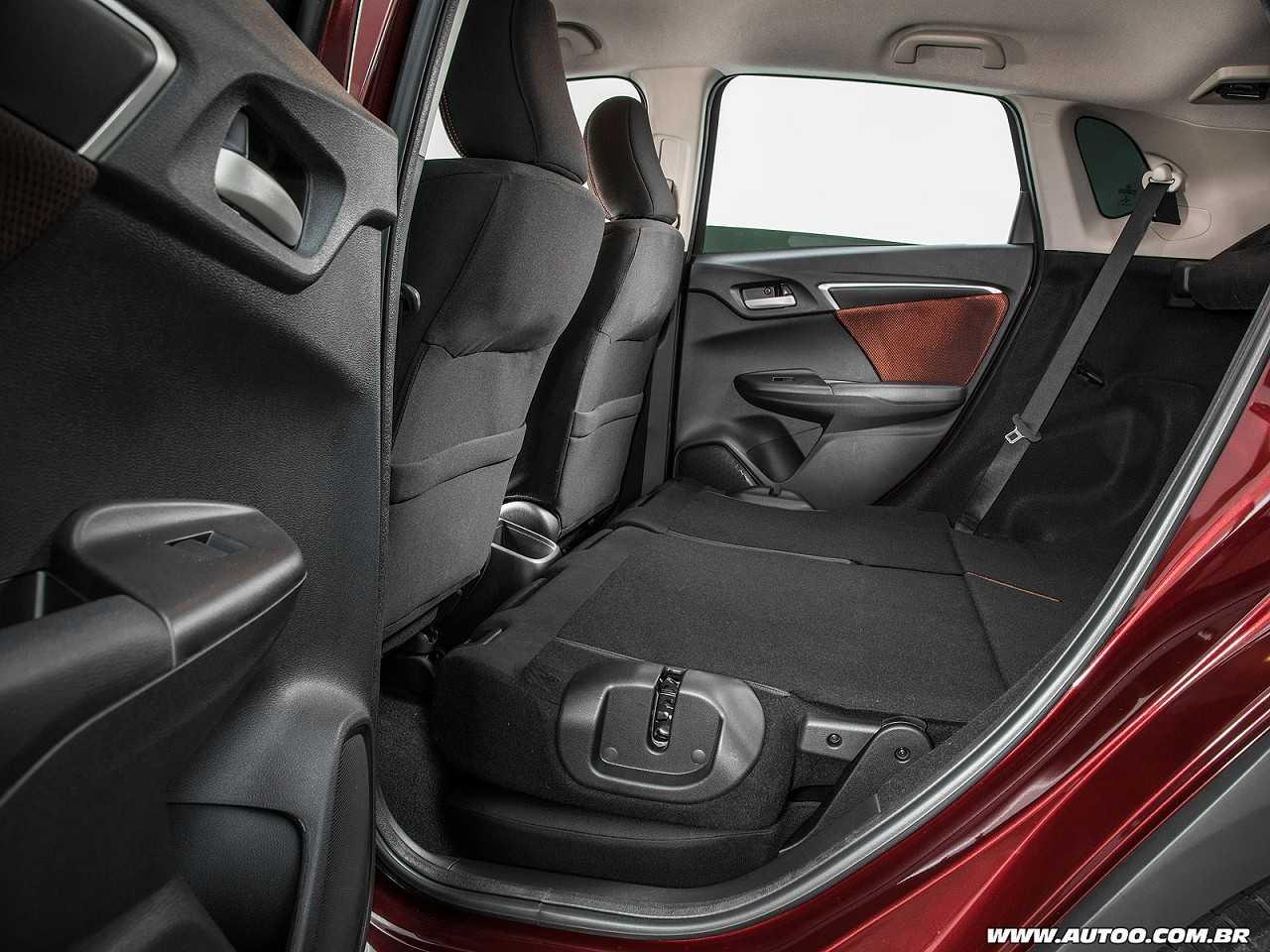HondaWR-V 2018 - bancos traseiros