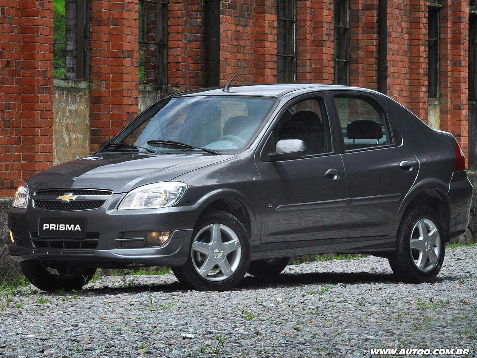 ChevroletPrisma 2012 - ângulo frontal