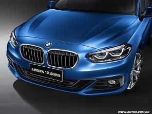 Criado para a China, BMW apresenta o Série 1 Sedan