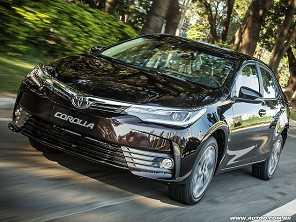 Toyota Corolla 2018 parte de R$ 69.690