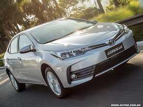 Toyota Corolla segue como o carro mais vendido do mundo em 2017