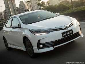 Toyota Corolla atinge 1 milhão de unidades produzidas no Brasil
