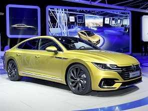 Cupê de quatro portas, Arteon revela uma nova Volkswagen