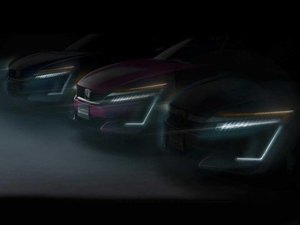 Nova gama Honda Clarity com três opções de propulsão