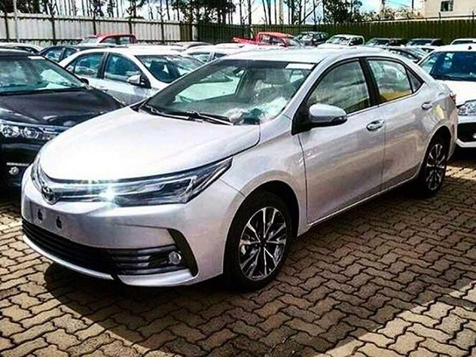 Novo Toyota Corolla 2018 em concessionária da marca