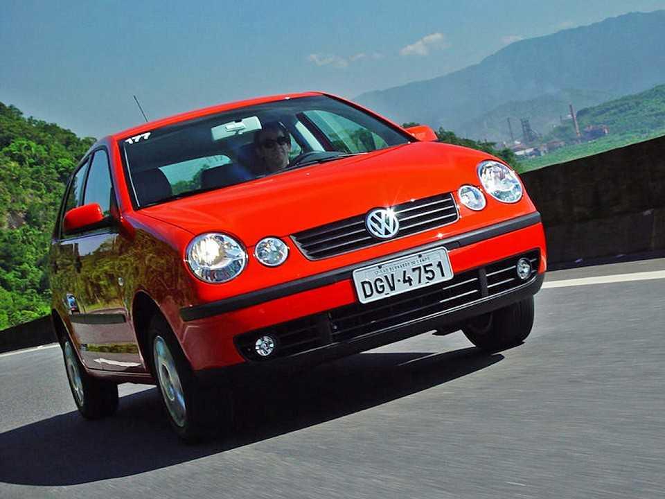 VolkswagenPolo 2002 - ângulo frontal