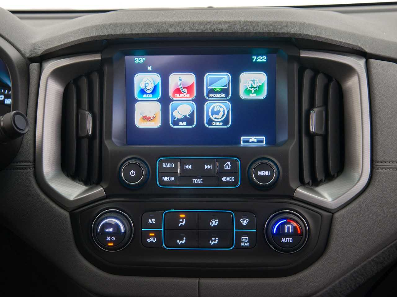 ChevroletS10 2018 - console central