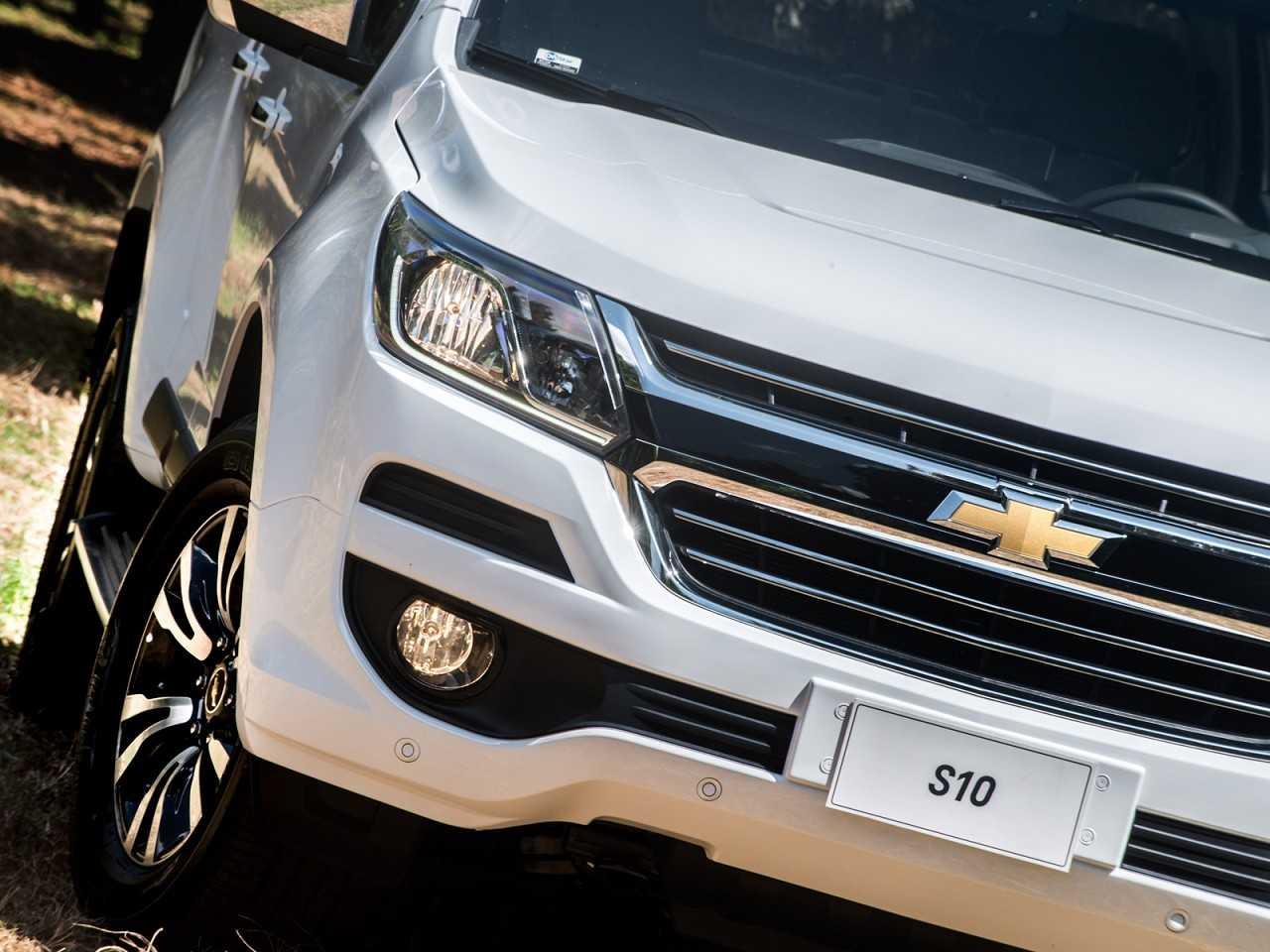 ChevroletS10 2018 - grade frontal