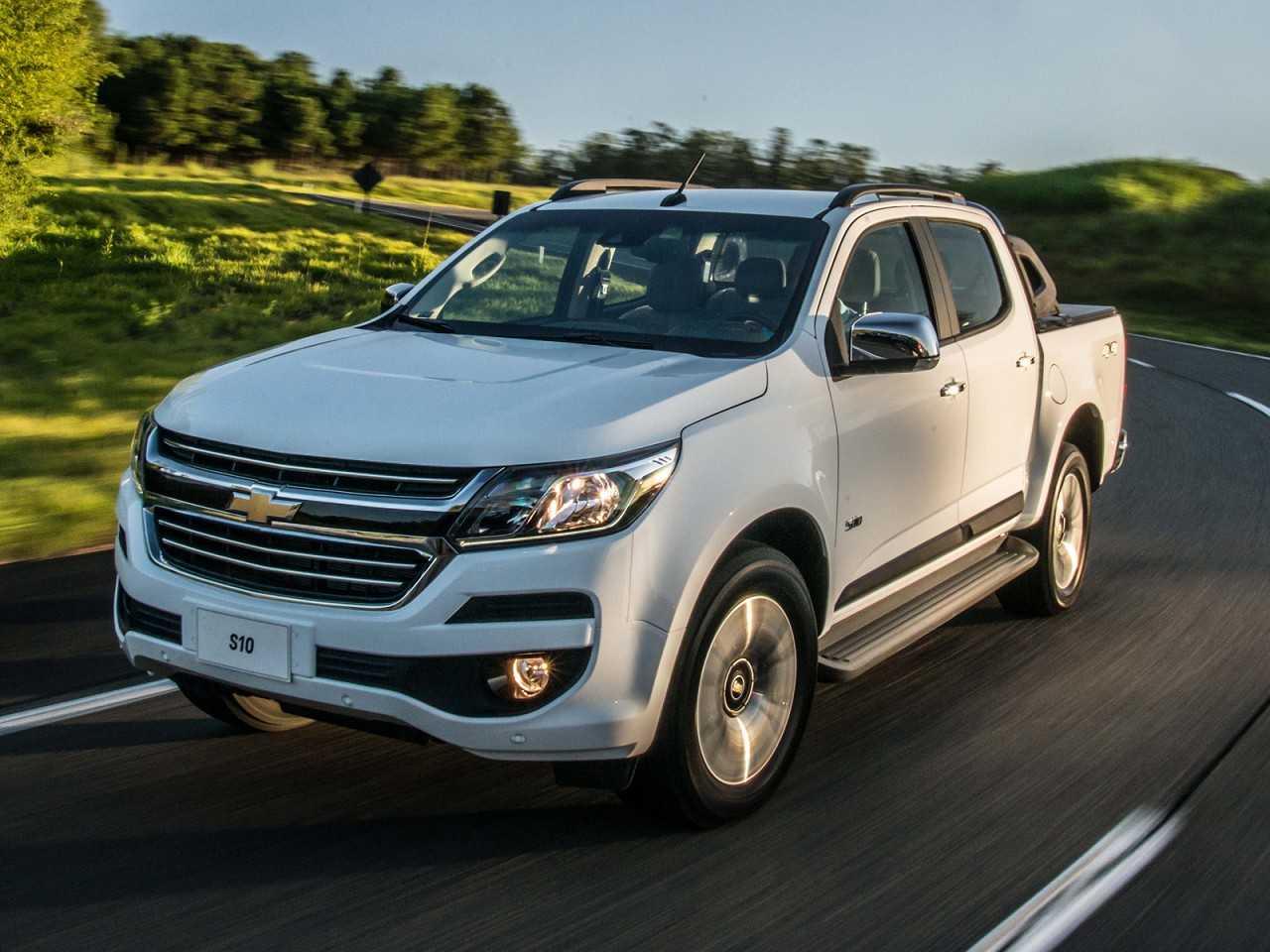 ChevroletS10 2018 - ângulo frontal
