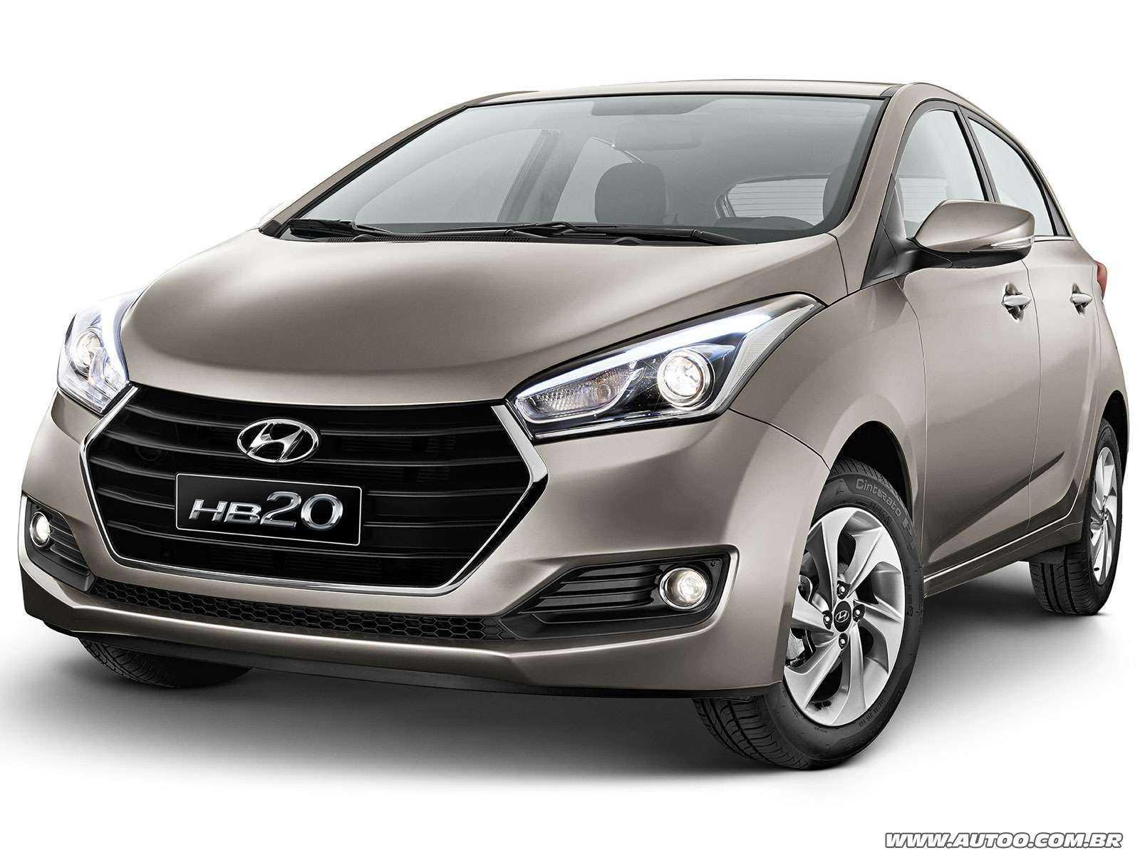 HyundaiHB20 2017 - ângulo frontal
