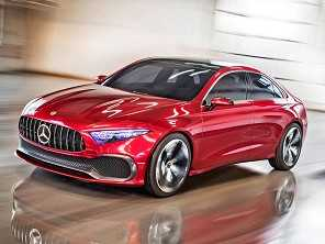Mercedes-Benz mostra novo sedã de entrada na China