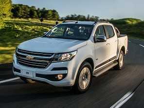 Chevrolet lança a S10 flex com câmbio automático