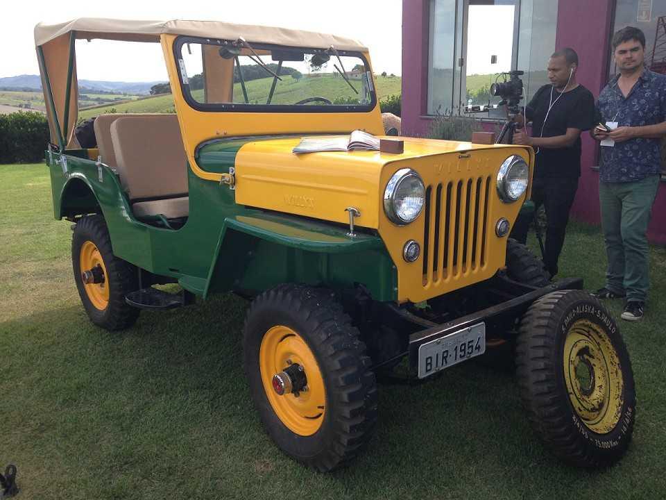 Jeep Willys CJ-3B que participou da Operação Abacaxi