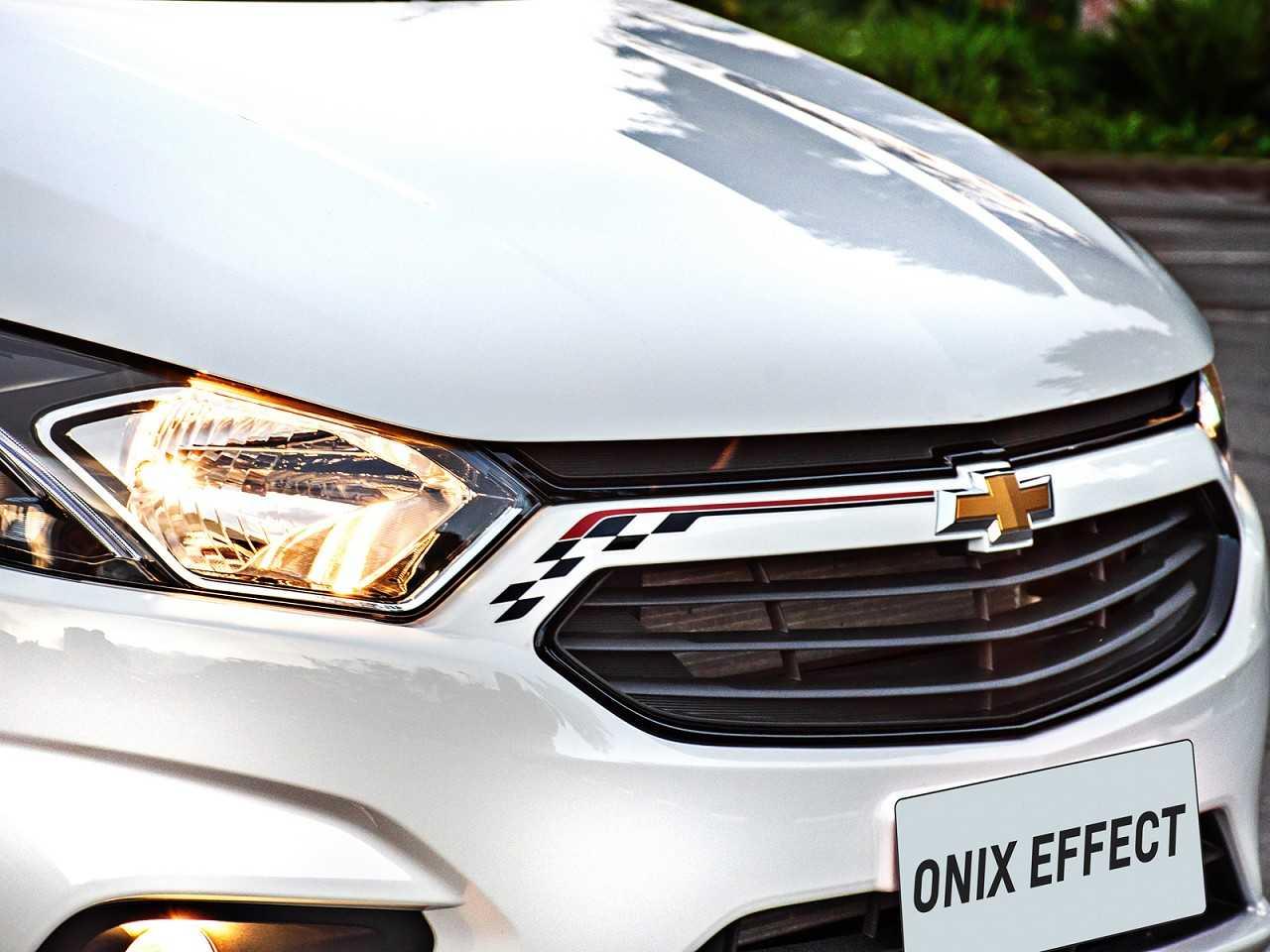 ChevroletOnix 2018 - grade frontal