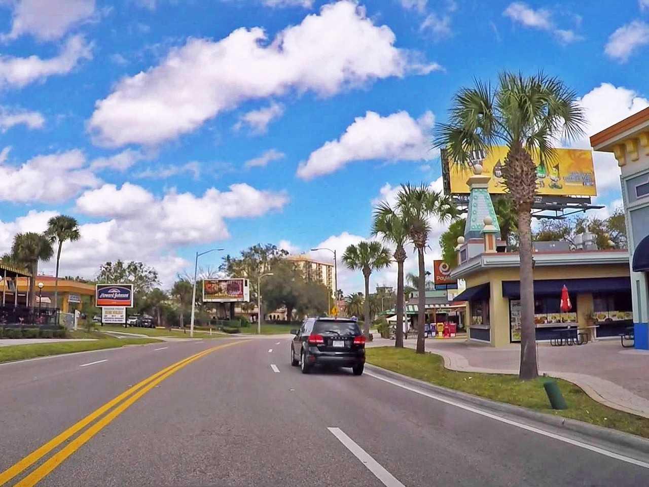 Dirigir em Orlando