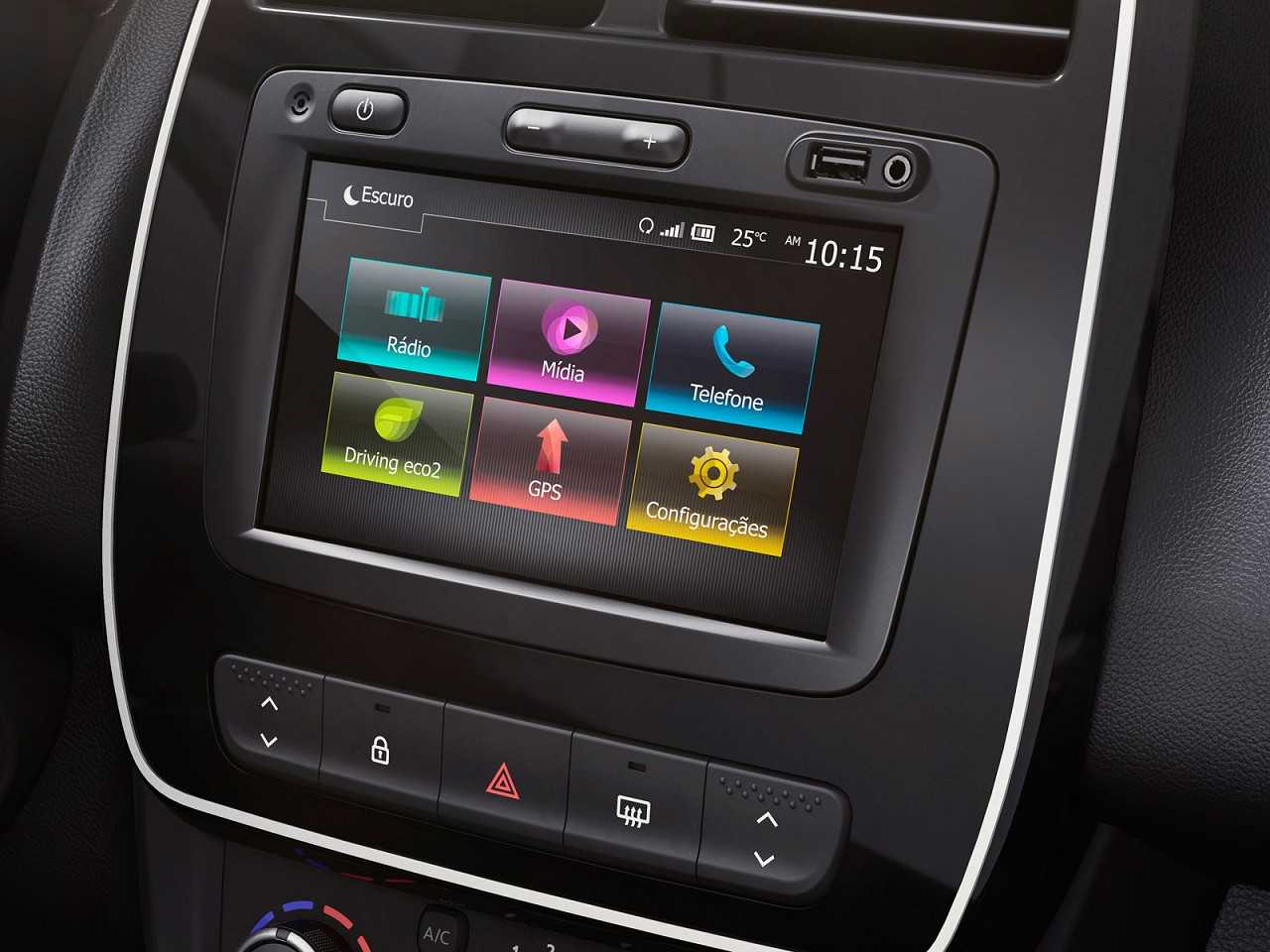 RenaultKwid 2018 - console central