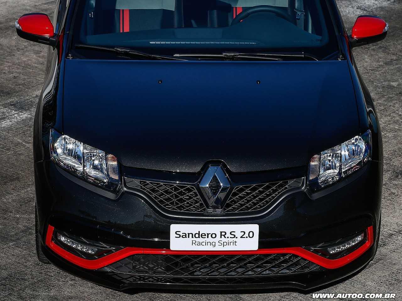 RenaultSandero 2017 - frente