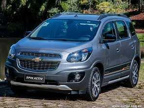 Chevrolet Spin 2018 traz melhorias em conectividade