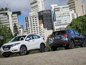 No exterior, Honda HR-V tem facelift confirmado para 2018
