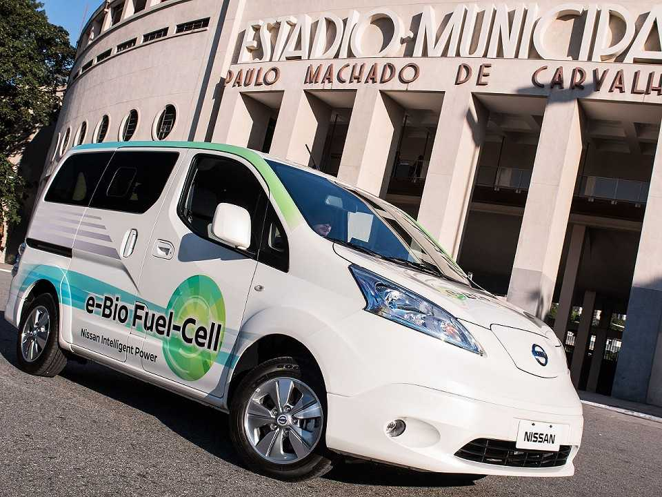 O Nissan e-Bio equipado com a SOFC está em testes no Brasil