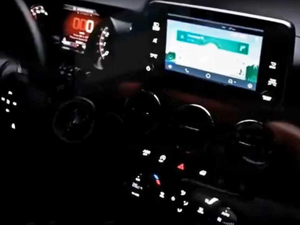 Interior do Fiat Argo: capricho para atrair novos clientes