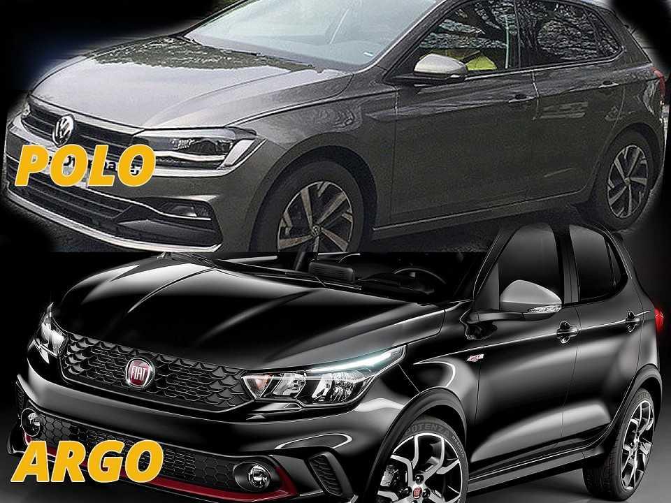 Polo e Argo: novos nomes da Volkswagen e Fiat para esquecer Gol e Palio
