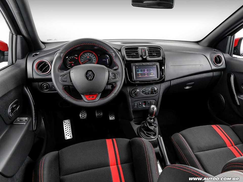 RenaultSandero 2017 - painel