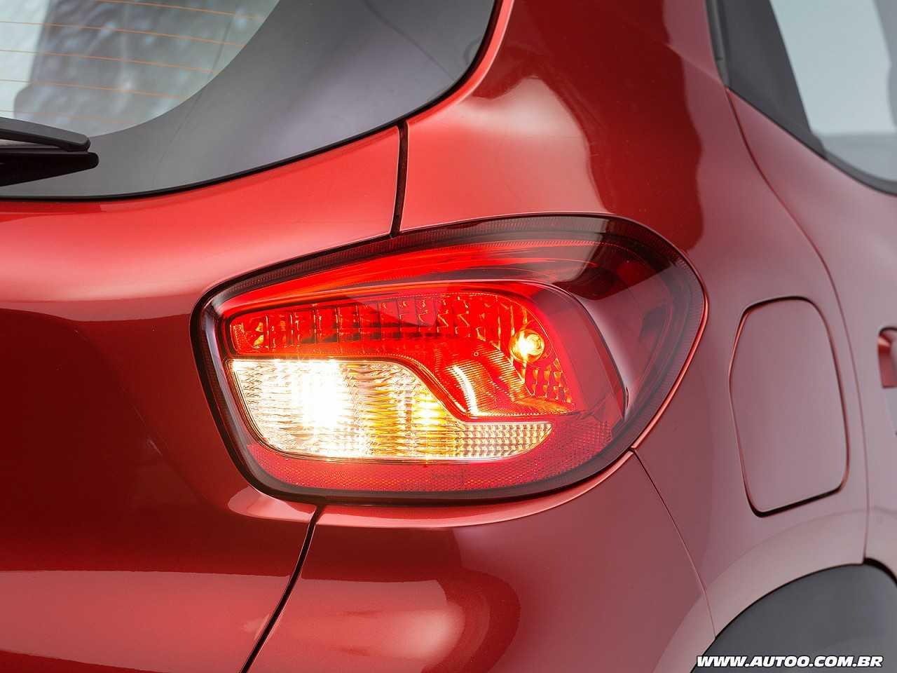RenaultKwid 2018 - lanternas