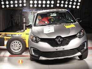 Renault Captur vai bem em avaliação de segurança
