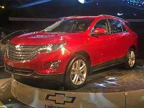 Novo SUV da Chevrolet, Equinox chegará ao Brasil a partir de outubro