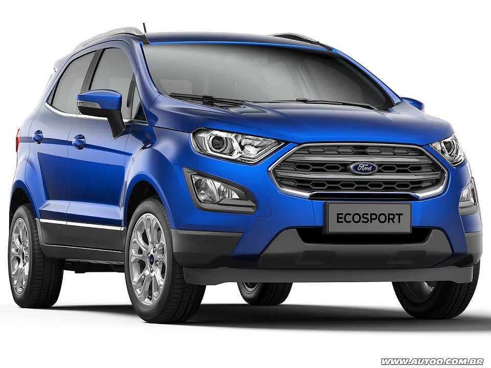 ford ecosport 2018 estreia em agosto com f lego renovado autoo. Black Bedroom Furniture Sets. Home Design Ideas