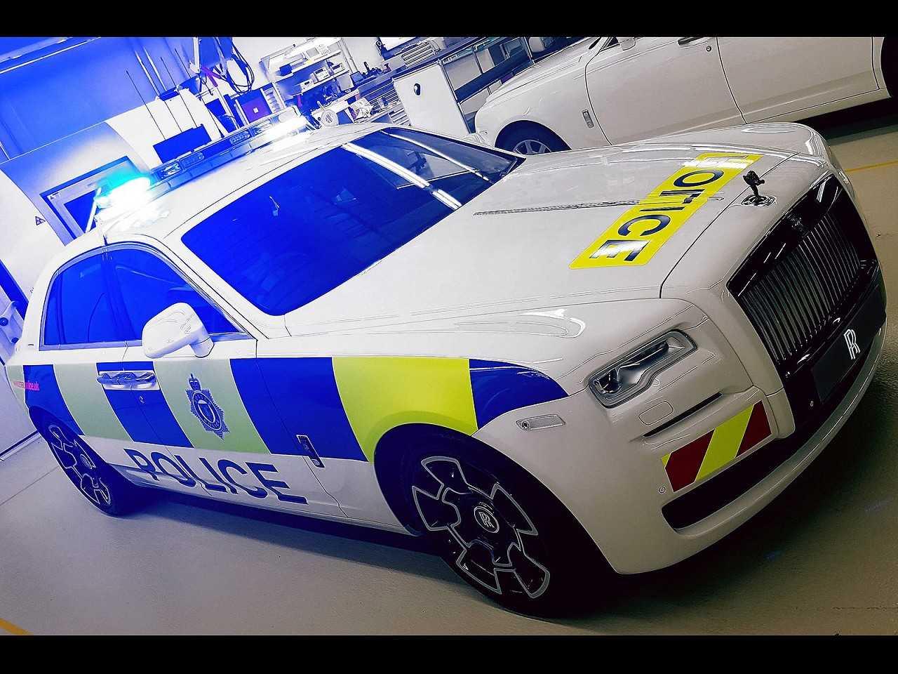 Rolls-Royce Ghost oferecido ao departamento policial Sussex
