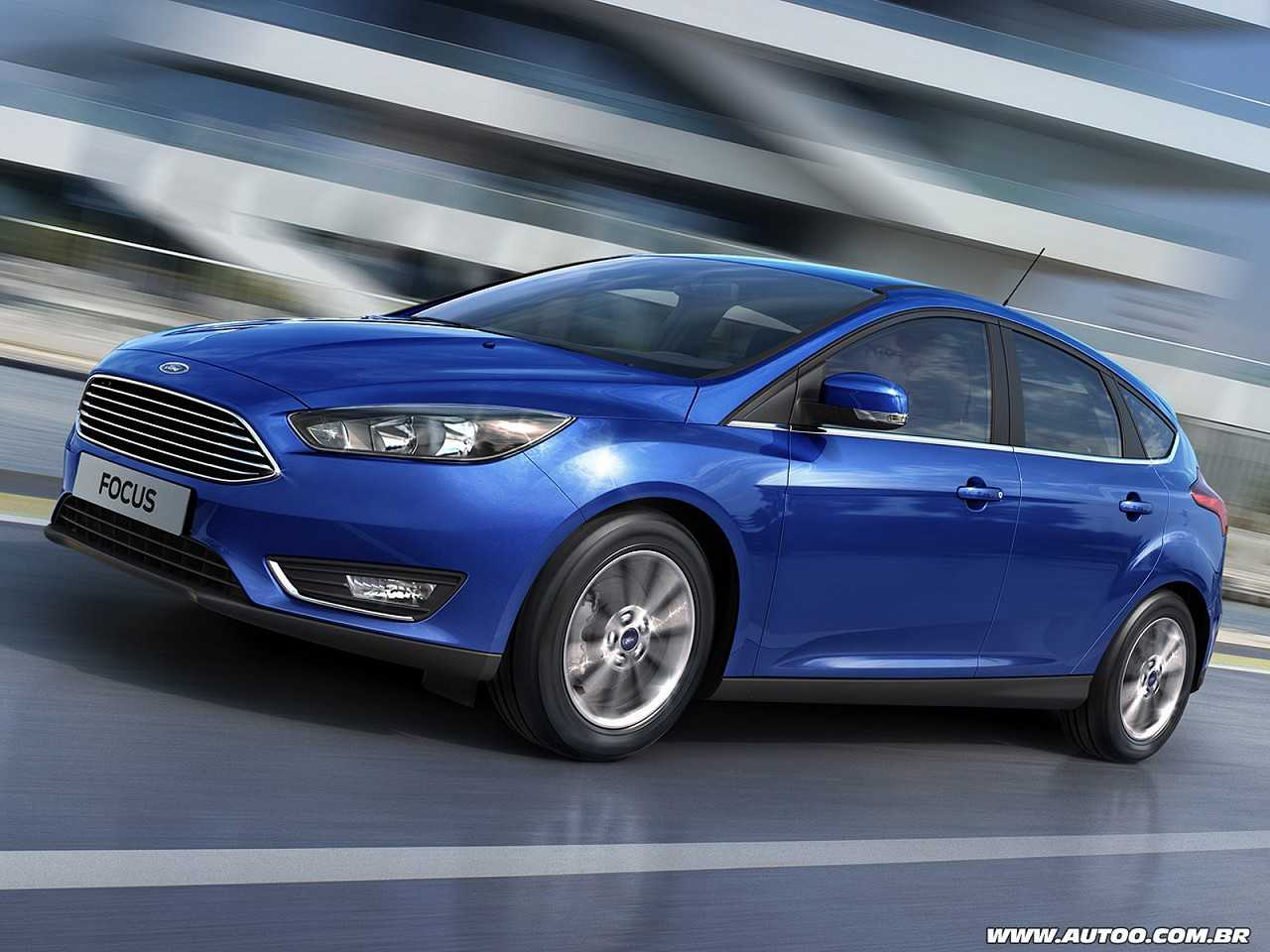 Ford Focus 2017 - ângulo frontal